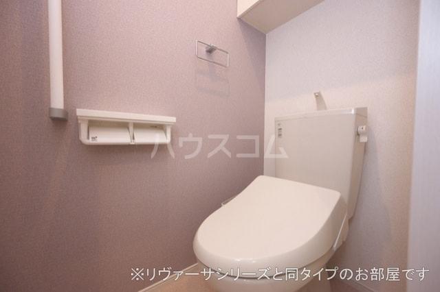 プルメリア イースト D 01010号室のトイレ
