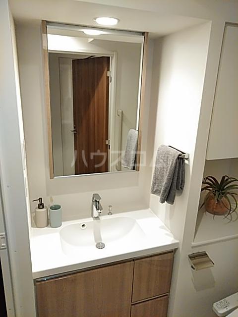 パークアクシス赤塚 1006号室の洗面所