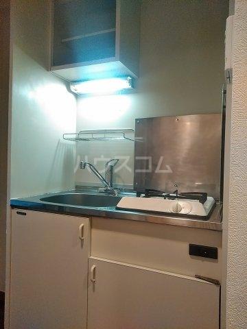 スクエアKⅡ 307号室のキッチン