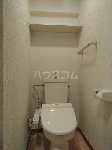 スクエアKⅡ 307号室のトイレ