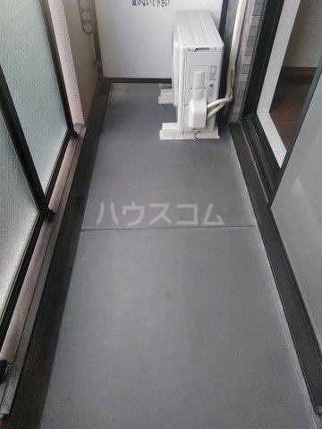スクエアKⅡ 307号室のバルコニー