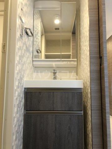 ハーモニーレジデンス池袋ウエストゲート 302号室の洗面所