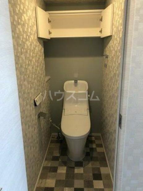 ハーモニーレジデンス池袋ウエストゲート 801号室のトイレ