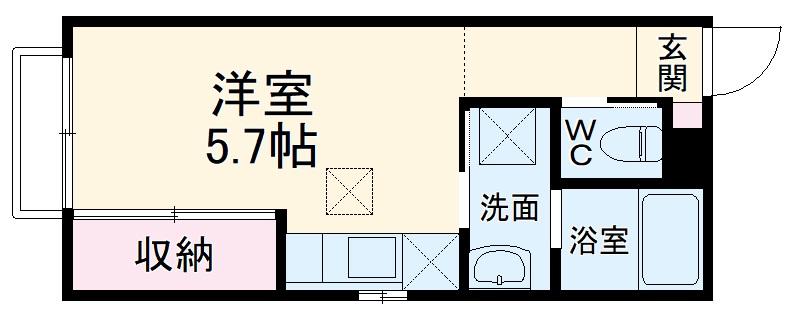 (仮称)大宮区大成町計画・301号室の間取り