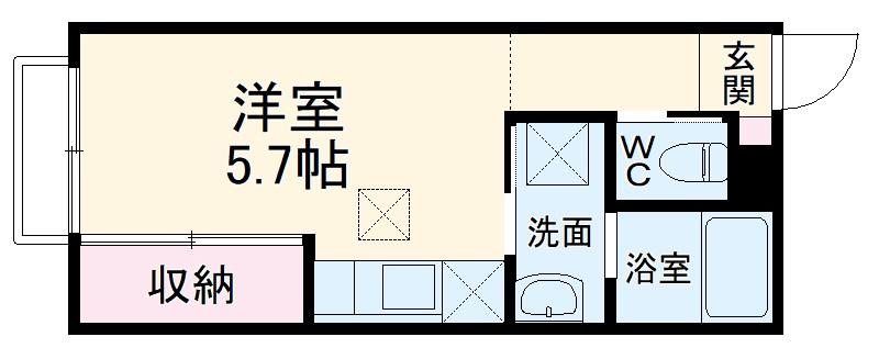 (仮称)大宮区大成町計画・302号室の間取り