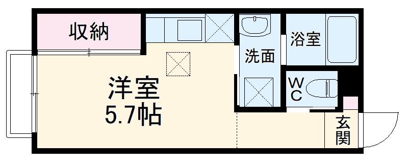 (仮称)大宮区大成町計画・303号室の間取り