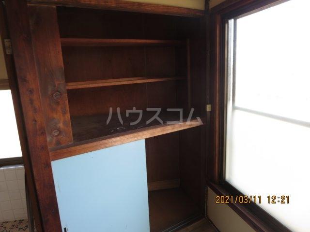 佐野町貸家の収納