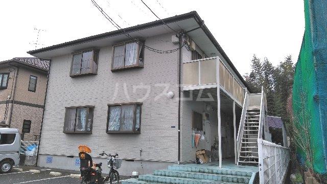 宇田川ハイツA棟外観写真