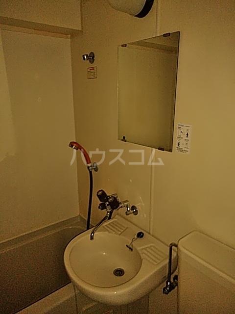 WEST VALLEY 305号室の洗面所