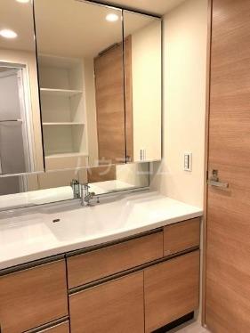 SHINTO CITY A911号室の洗面所