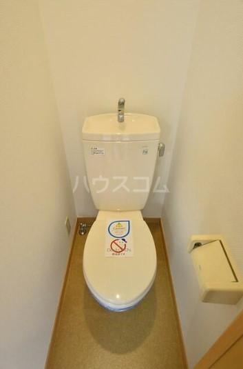 シルバーコート中落合 202号室のトイレ