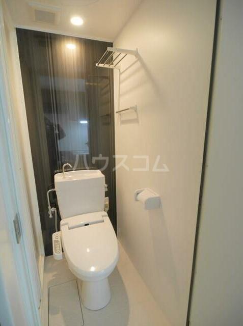 メゾンソレイユ 1-D号室のトイレ