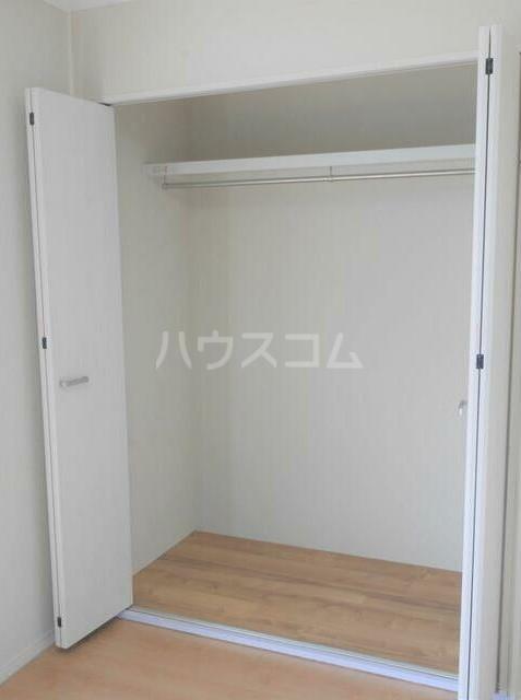 メゾンソレイユ 1-D号室の収納