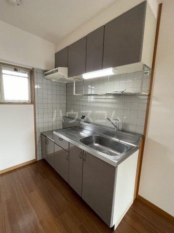 M・ソレイユ21 502号室のキッチン