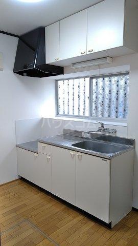 清水住宅のキッチン