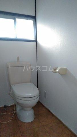 清水住宅のトイレ