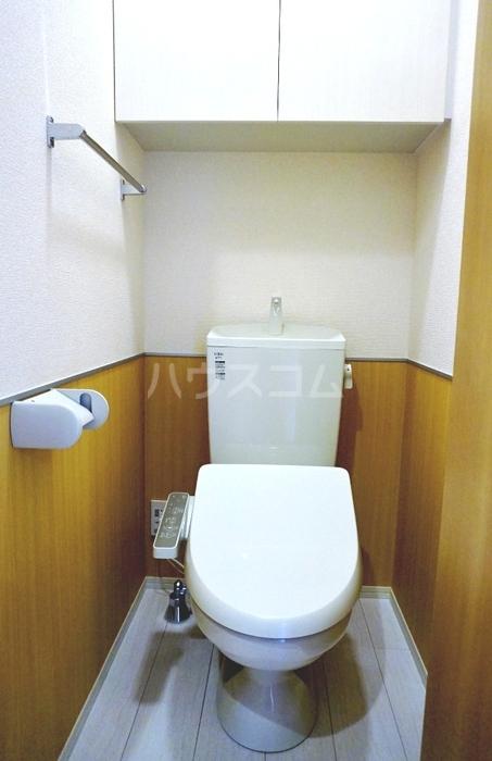 ガーネット 101号室のトイレ