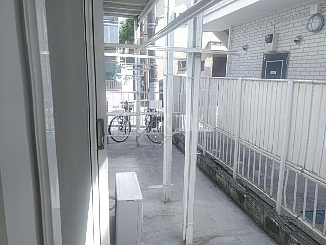 レクス入船 102号室のバルコニー