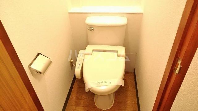 ポンデロッサ鶴見Ⅱ 108号室のトイレ