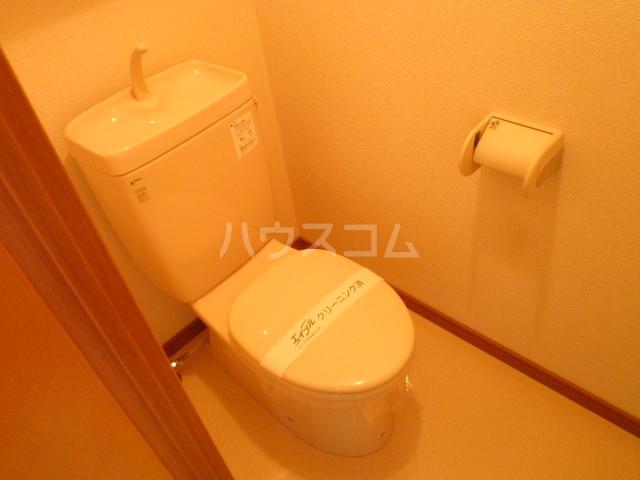 ニューハイツ日野 203号室のトイレ