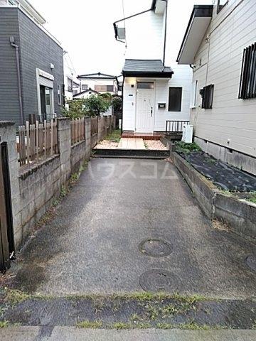 升水メンバーズハウスの駐車場