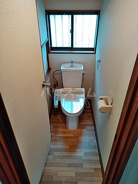 升水メンバーズハウスのトイレ