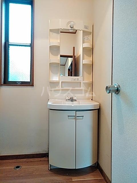 升水メンバーズハウスの洗面所