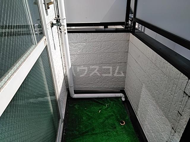 クレアコート 102号室のバルコニー