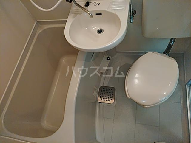 クレアコート 102号室のトイレ