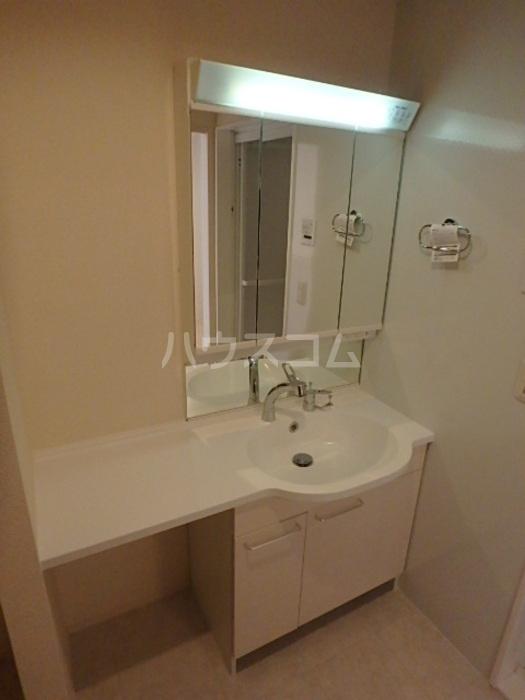 コルテ六条 203号室の洗面所