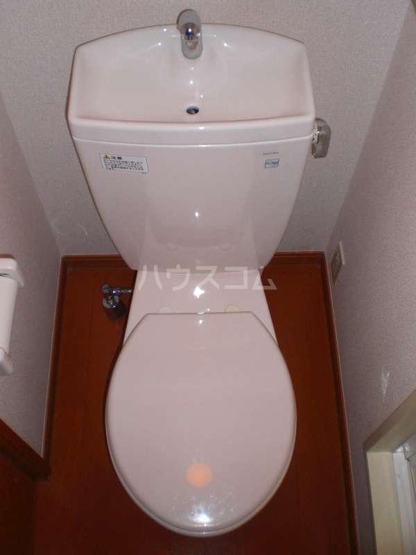 レオパレスKOTOBUKI Ⅱ 104号室のトイレ