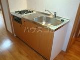 プリオール 101号室のキッチン