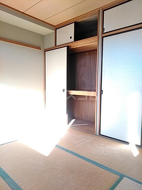 パルナスG 101号室の収納