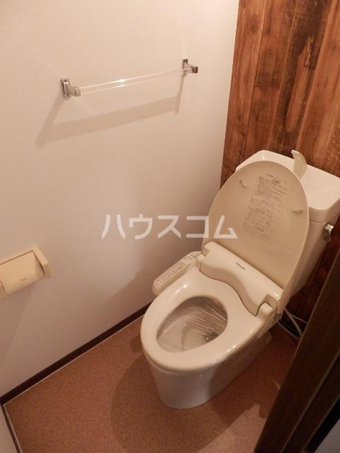 レイクサイド渚 201号室のトイレ