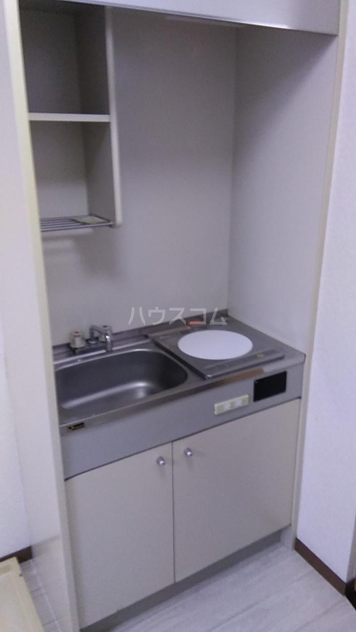 ヴィラ元木 105号室のキッチン