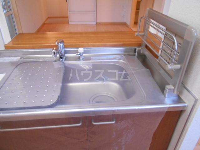フィオーレ 1-202号室のキッチン