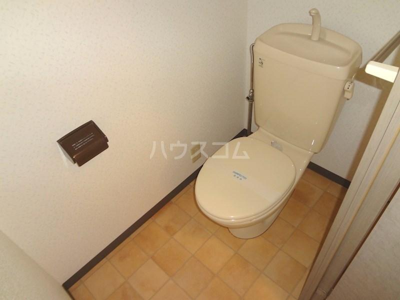 スクエアー仲畑 B205号室のトイレ