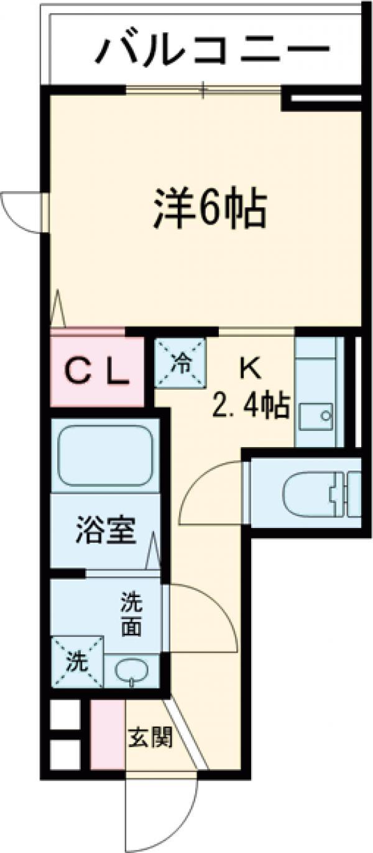 Chou Chou 306号室の間取り