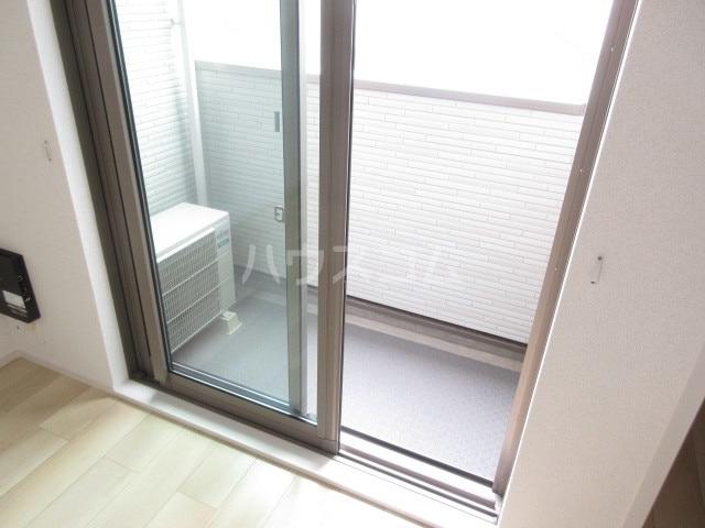 シャロームガーデン 01010号室のバルコニー