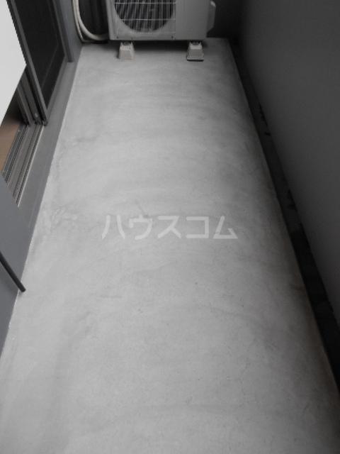 百道グロリアス 402号室のバルコニー