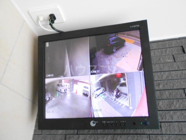 百道グロリアス 402号室のセキュリティ