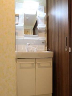 百道グロリアス 402号室の洗面所