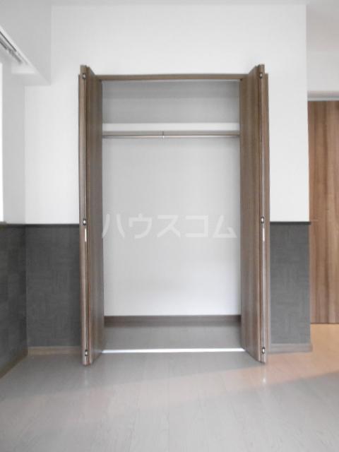 百道グロリアス 402号室の収納
