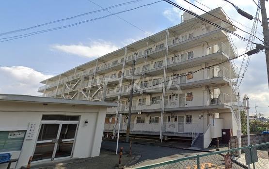ビレッジハウス茨木2号棟の外観
