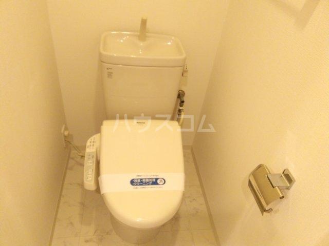 パークポイント池袋要町 403号室のトイレ