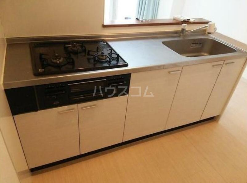 ライオンズマンション駒沢 504号室のキッチン