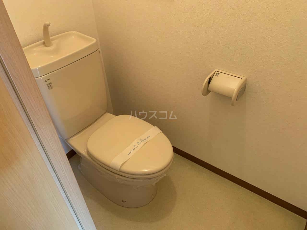 Elfino 301号室のトイレ