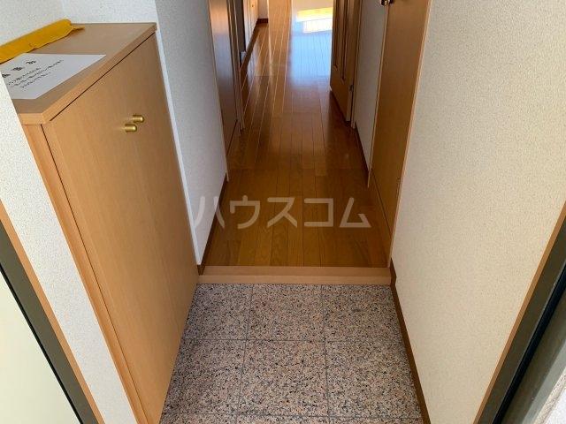 Elfino 301号室の玄関