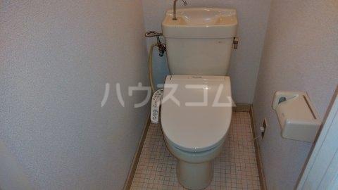 第二清水コーポ 103号室のトイレ