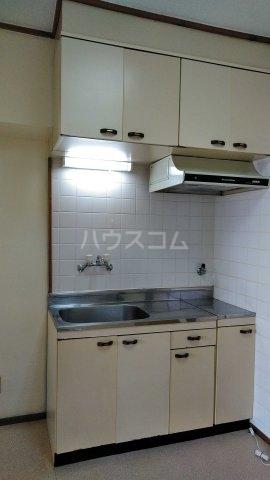 パラシオ新町 205号室のキッチン